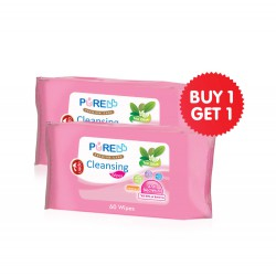 Pure BB Baby Cleansing Wipes Tissue Basah Tea...