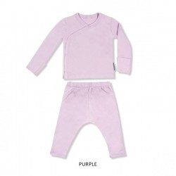 Little Palmerhaus Baby Kimono Long Sleeve Set -...
