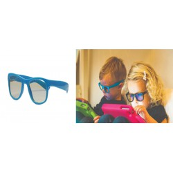 Real Shades Kacamata Anak 2Y+ Screen Shades - Blue