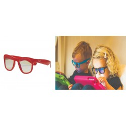 Real Shades Kacamata Anak 2Y+ Screen Shades - Red