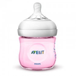 Philips Avent Natural 2.0 Baby Bottle 125ml Pink...