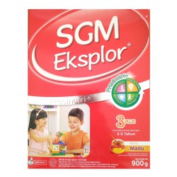 SGM Eksplor 3 PLUS Presinutri+ Box 900 gr - Madu