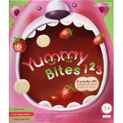 Yummy Bites for Toddler 123 Strawbearry 12M+ -...