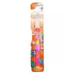 Kodomo Toothbrush Soft Zig-Zag - Color May Vary