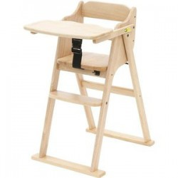 Yamatoya Tatameru Baby High Chair - Natural