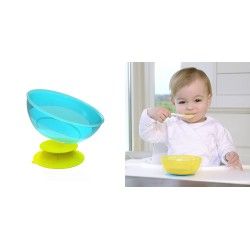 Kidsme Stay in Place with Bowl Set - Lime Sky Bowl