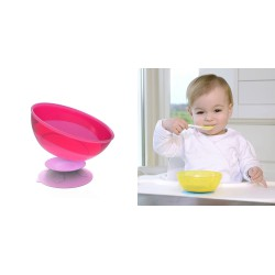 Kidsme Stay in Place with Bowl Set - Purple Pink...