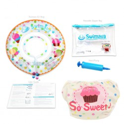 Swimava Baby Starter Neck Ring & Diaper - Ice...