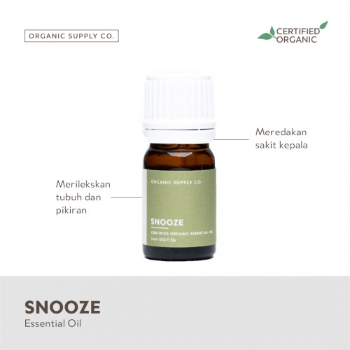 Organic Supply Co Essential Oil 5 ml - Snooze