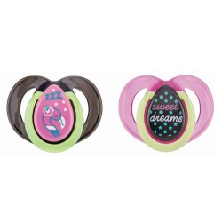 Tommee Tippee Night Time Orthodontic Soother...
