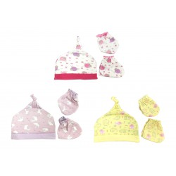 Little Owi Set Topi Animal - Girl