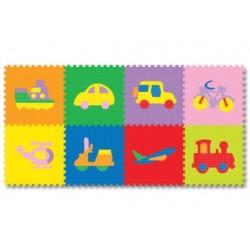 Evamats Puzzle Transportasi - 8 Pcs