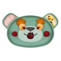 Tum Tum Eco Dippy Face Baby Plate - Boris