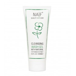 Naif Cleansing Wash Gel With Natural Cottonseed...