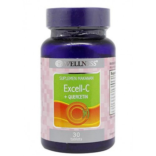 Wellness Excell-C+Quercetin - 30 Tablets