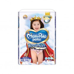 MamyPoko Popok Pants Royal Soft XXL 24 - Girl