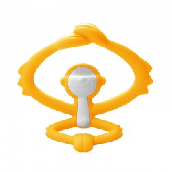 Mombella Hugging Monkey Teether - Yellow