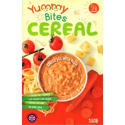 Yummy Bites Cereal 100 gr - Cheesy Vegetable ...