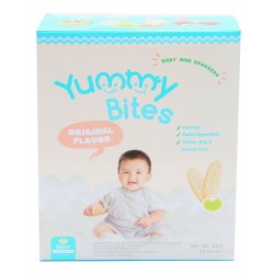 Yummy Bites Baby Rice Cracker  50 gram - Original