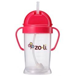 Zoli Straw Sippy Cup Bot XL 9 oz/270ml - Pink