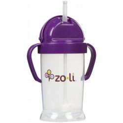 Zoli Straw Sippy Cup Bot XL 9 oz/270ml - Purple