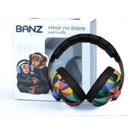 Banz Mini Baby Earmuff - Kaleidoscope