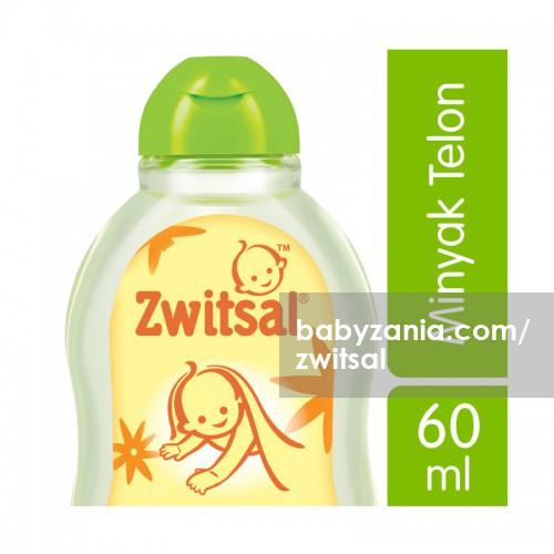 Zwitsal Natural Minyak Telon 60 ml