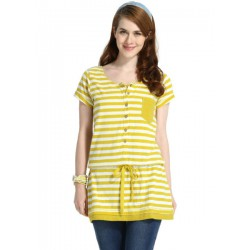 Mamaway Stripes Buttoned Tunic Long version...