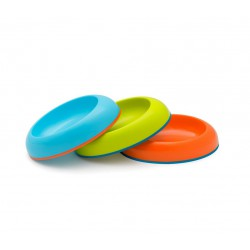 Boon Dish Edgeless Stay Put Bowl - Blue, Green,...