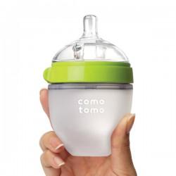Comotomo Soft Hygienic Silicone Baby Bottle 150ml...
