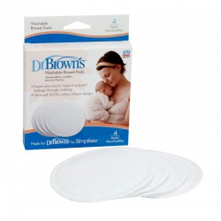 Dr. Brown's Washable Breast Pads 4 Pcs