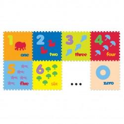 Evamats Puzzle Angka & Gambar - 10 Pcs