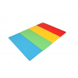 Foldaway Play Super Grand Mat Rainbow
