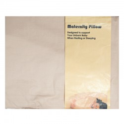 Maternity Pillow U - Coklat (SARUNG BANTAL HAMIL)