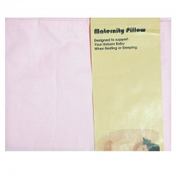 Maternity Pillow U - Pink (SARUNG BANTAL HAMIL)
