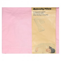 Maternity Pillow Seven Case - Pink (SARUNG BANTAL)