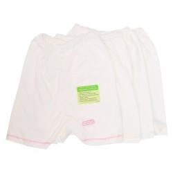 Imochi Celana 3/4 (Putih) 4 Pack - Girl