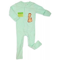 Imochi Sleepsuit Panjang - Green Giraffe