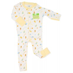 Imochi Sleepsuit Panjang - Sea Animal Kuning