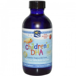 Nordic Naturals Children's DHA 119ml - Strawberry