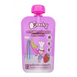 Peachy Strawberry & Banana Smoothie 100gr