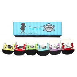 Petite Mimi Socks 6 Packs (0-12M) - Tali
