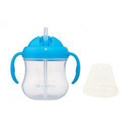 Pigeon Step 3 Mag Mag Straw Cup 8m+ - Blue...