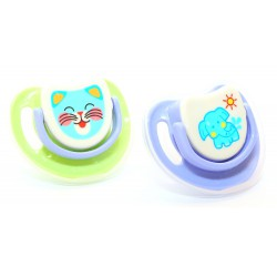 Pigeon Step 2 Silicone Pacifier - 2 Pack