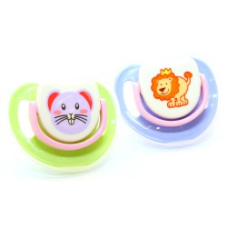 Pigeon Step 1 Silicone Pacifier - 2 Pack