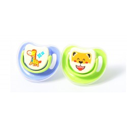 Pigeon Step 3 Silicone Pacifier - 2 Pack