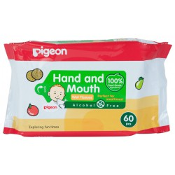 Pigeon Baby Hand and Mouth Wet Tissue 60 Sheets