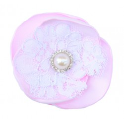 Pita Emma Hairclip - Baby Pink