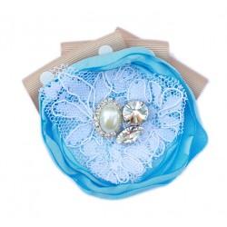 Pita Single Sophia Hairclip - Baby Blue