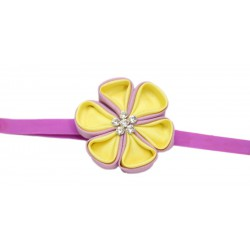 Pita Aiko Yellow Purple - Headband